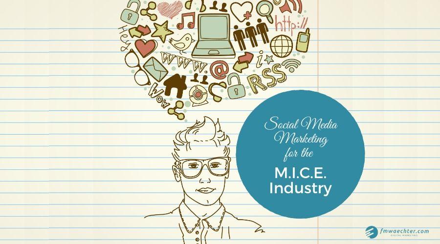 social media marketing for the mice industry