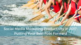 Social media marketing productivity