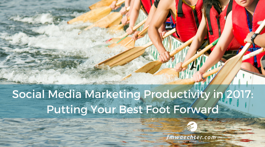 Social media marketing productivity