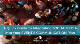Social Media Event Communication Plan