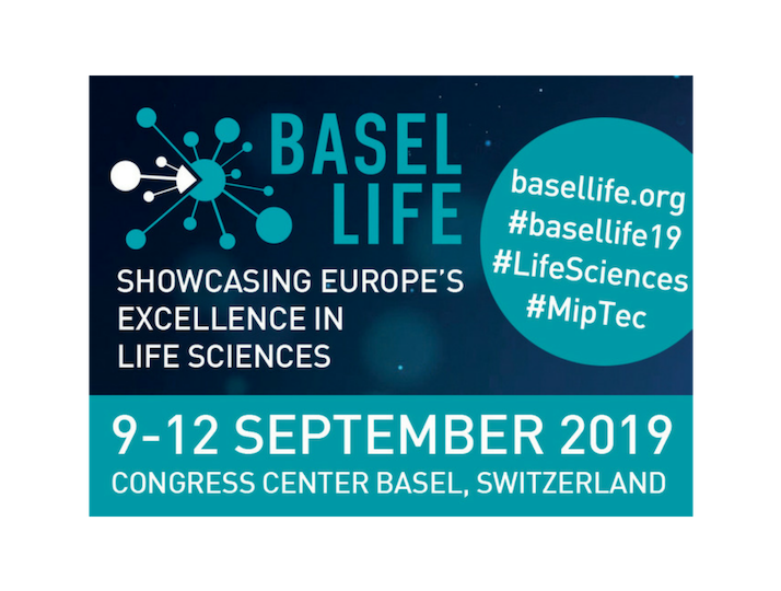 Logo for Basel Life 2019 Conference and MipTec Exhibition