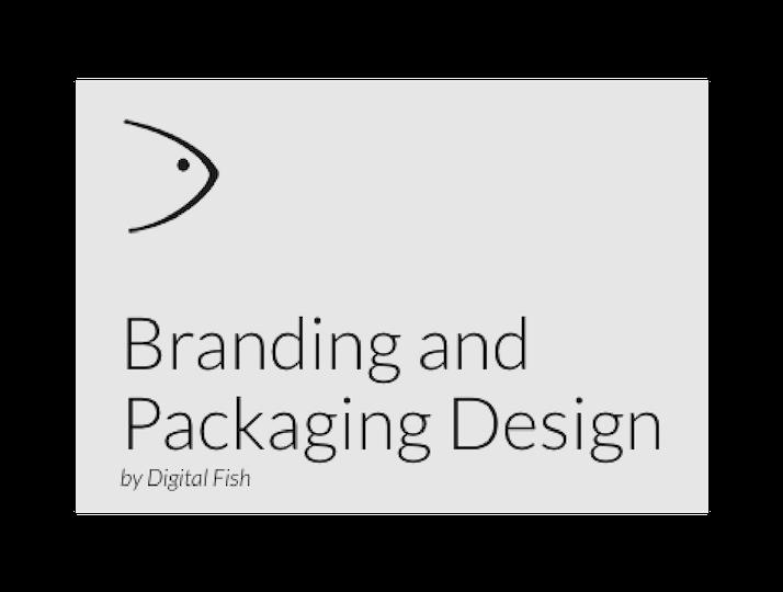 Logo for Digital Fish, Branding and Packaging Design